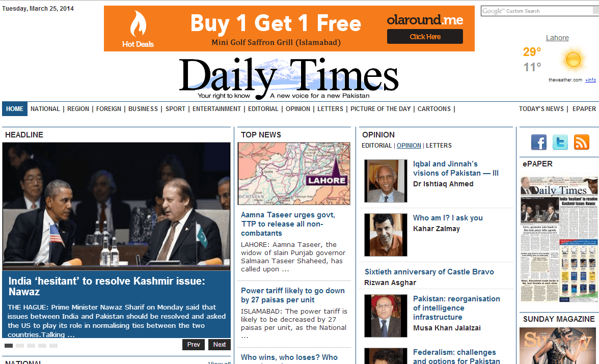 DailyTimes
