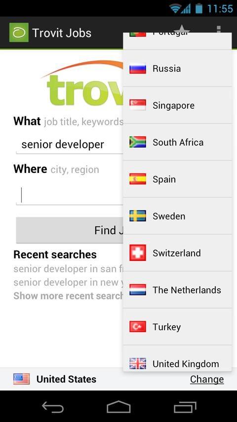 trovit career app