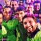 Pakistan cricket team selfie