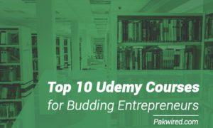 Top 10 Udemy Courses for Budding Entrepreneurs
