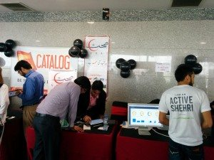 Stalls of E-Catalog, Sehat Zindagi & Active Shehri booming with visitors