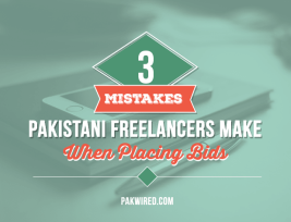 3 Mistakes Pakistani Freelancers Make When Placing Bids
