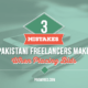 3 Mistakes Pakistani Freelancers Make When Placing Bids