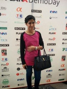 Rizma Farooq from Shopistan.pk at the event