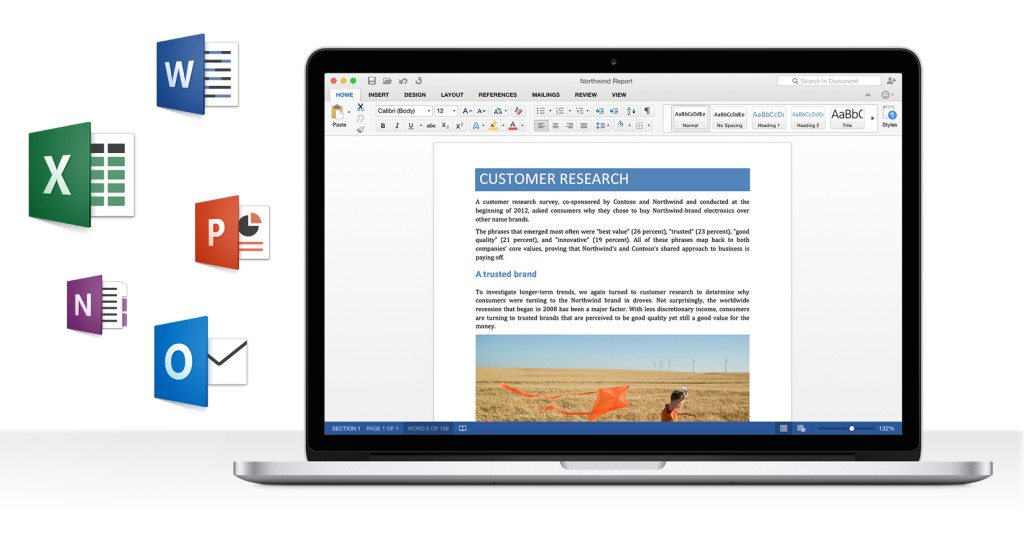 Microsoft Unveils Office for Mac 2016 Preview