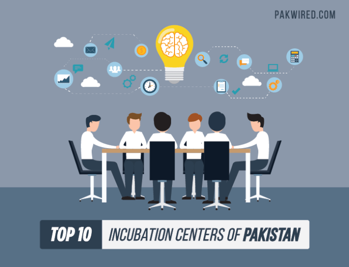 Top 10 Incubation Centers of Pakistan