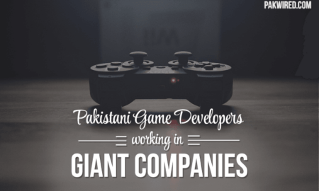 Pakistani Game Developers working in Giant Companies