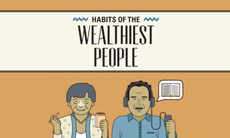 Habits of the World's Wealthiest People - #infographic