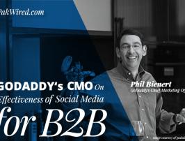GoDaddy's CMO on Social Media's B2B Effectiveness