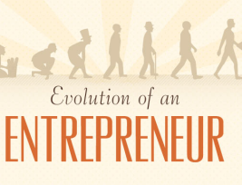 The Evolution of an Entrepreneur [INFOGRAPHIC]
