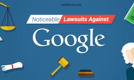 Noticeable Lawsuits Against Google