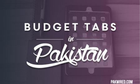 Budget Tabs in Pakistan