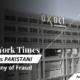 New York Times Accuses Pakistani Company of Fraud