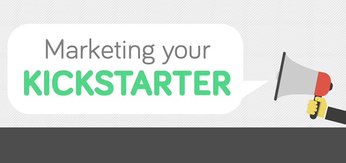Kickstarter marketing infographic