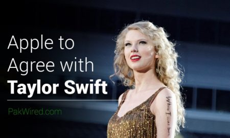Apple to Agree with Taylor Swift