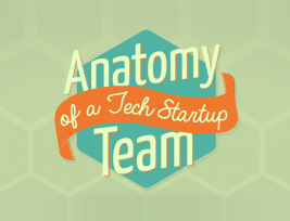 Anatomy of a Tech Startup Team (Infographic)