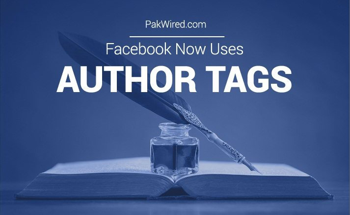 Good News for Bloggers and Journalists: Facebook Now Uses Author Tags