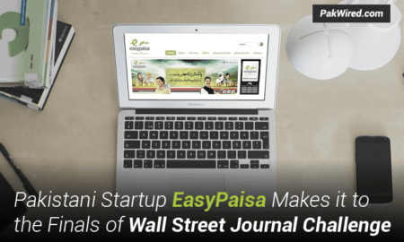 Pakistani Startup EasyPaisa Makes it to the Finals of Wall Street Journal Challenge