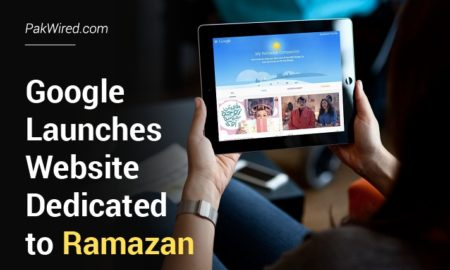 Google Launches Website Dedicated to Ramazan