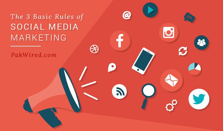 The 3 Basic Rules of Social Media Marketing