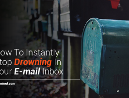 Will This Simple Tip Stop You From Drowning In Your E-mail Inbox Ever Again?