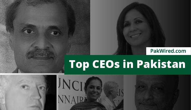 Top CEOs in Pakistan - 2015