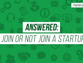 Answered To join or not join a startup