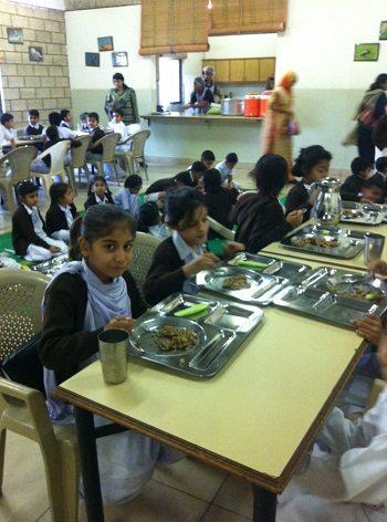 Saba's School Meals programme