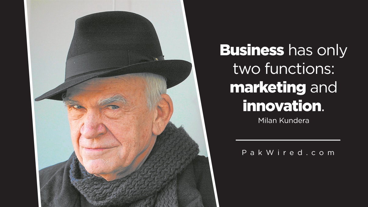 Business has only two functions marketing and innovation.