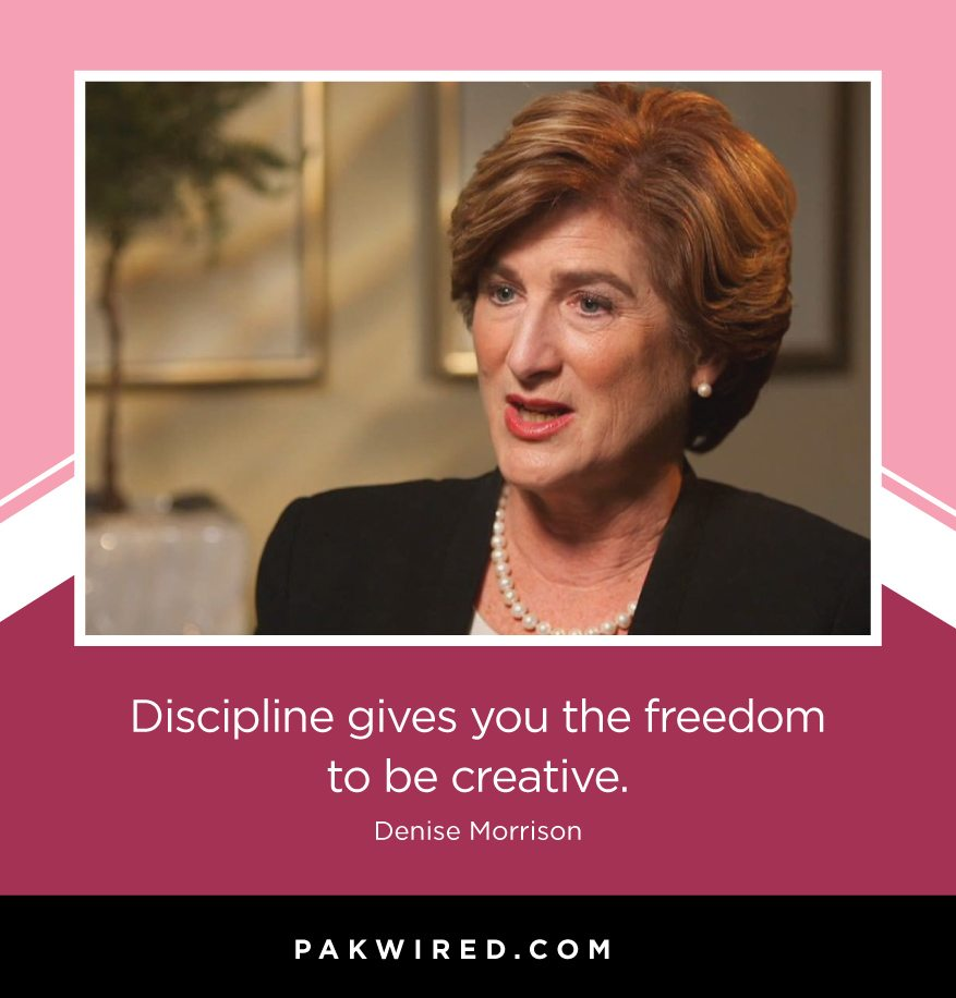 discipline-gives-you-the-freedom-to-be-creative-denise-morrison