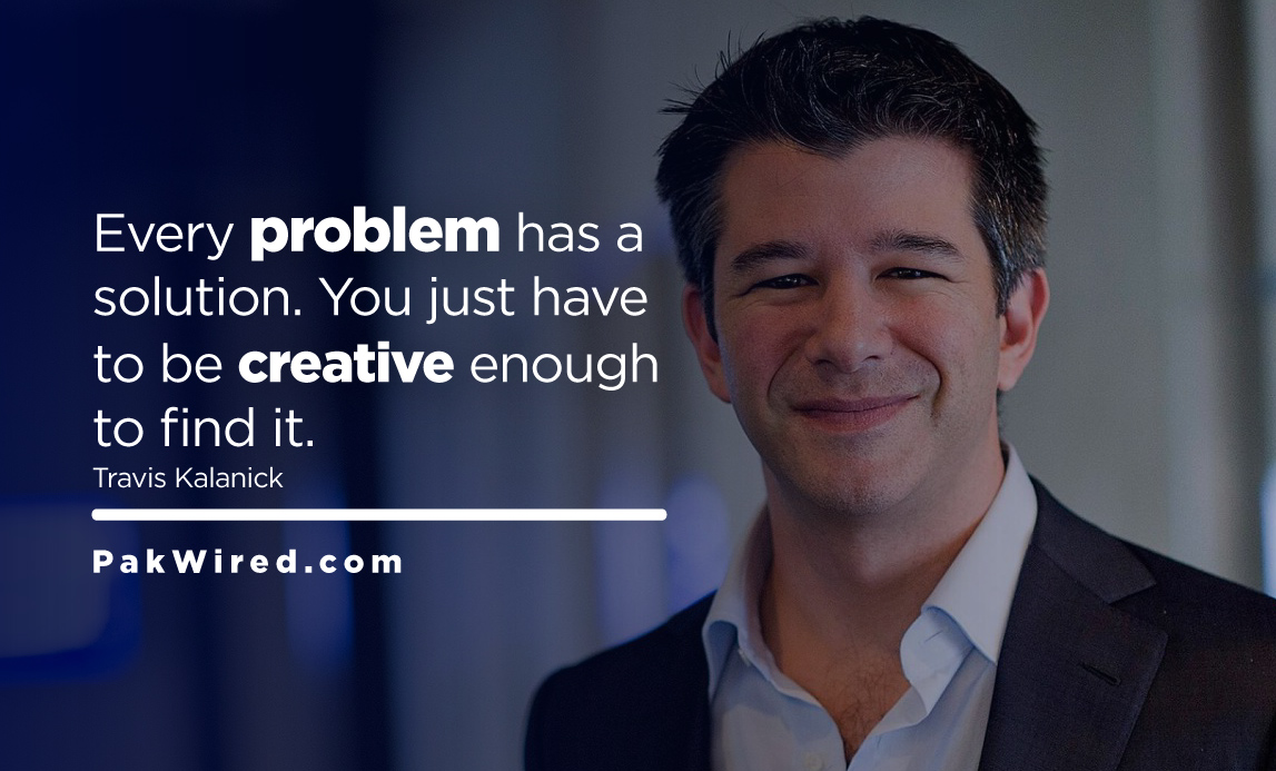 Every problem has a solution. You just have to be creative enough to find it.
