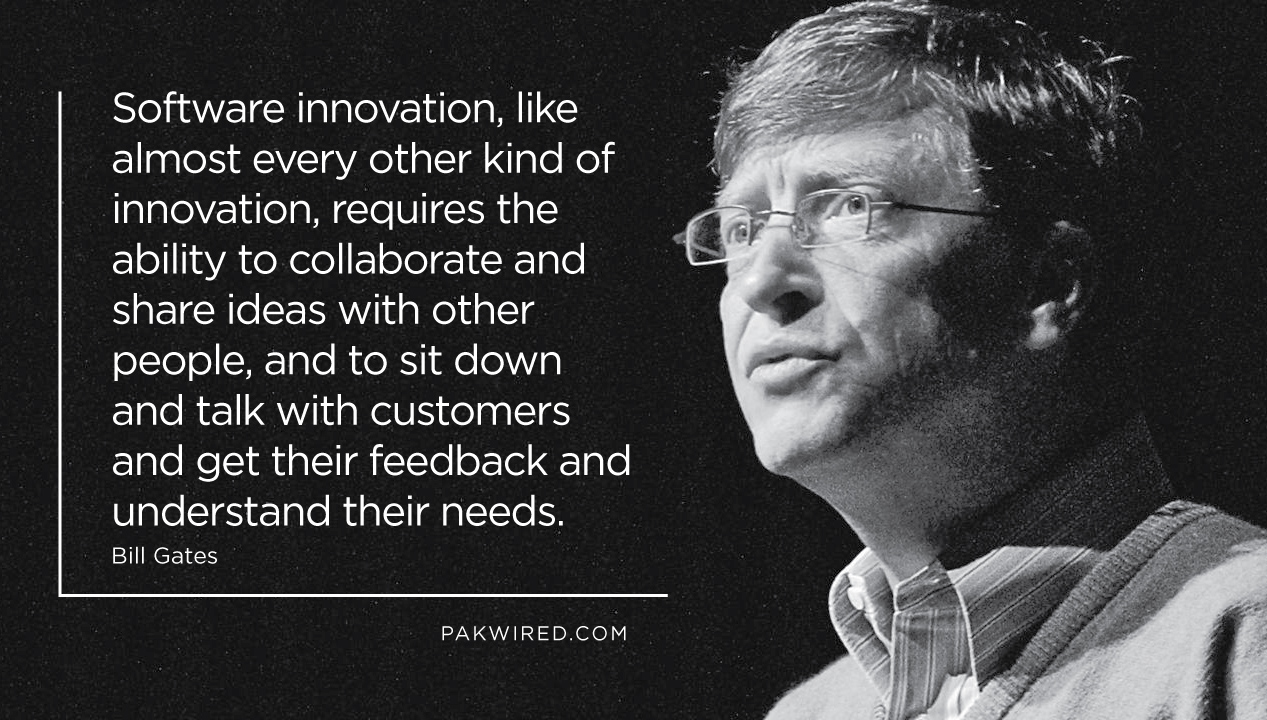Software innovation, like almost every other kind of innovation, requires the ability to collaborate