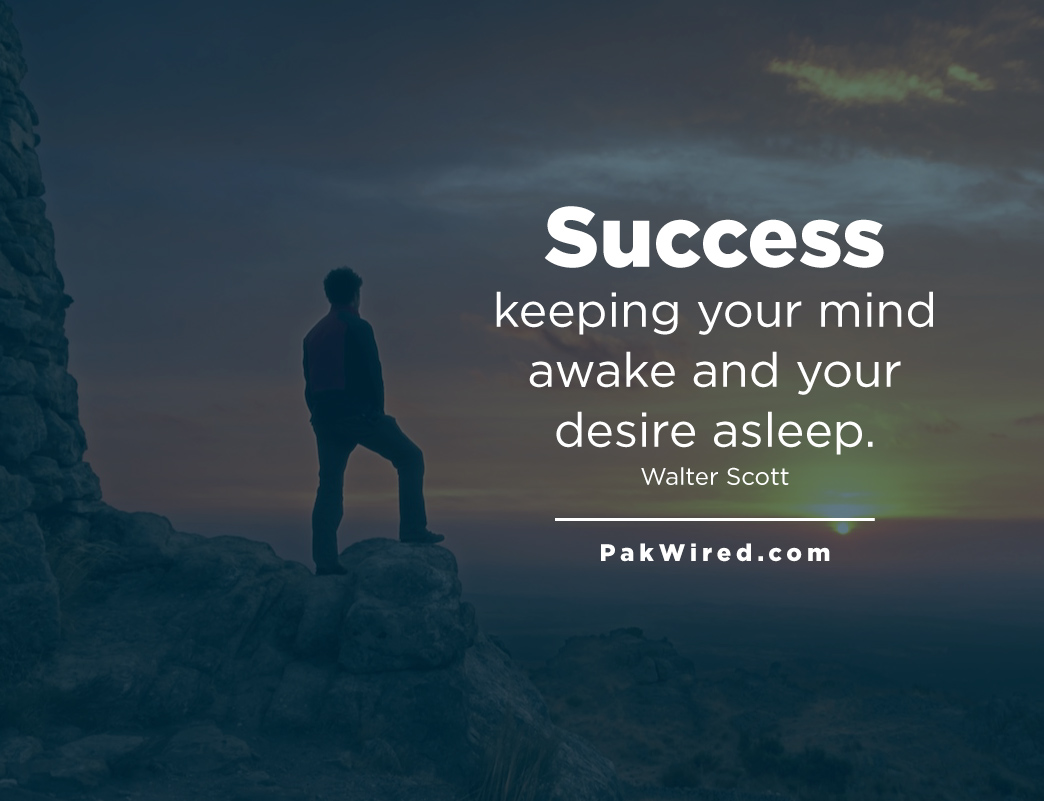 success-keeping-your-mind-awake-and-your-desire-asleep-walter-scott
