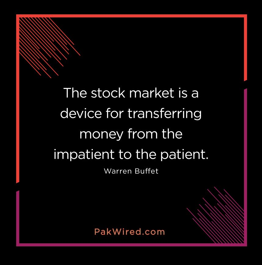 My Recent Stock Quotes: The Stock Market Is A Device For Transferring Money From