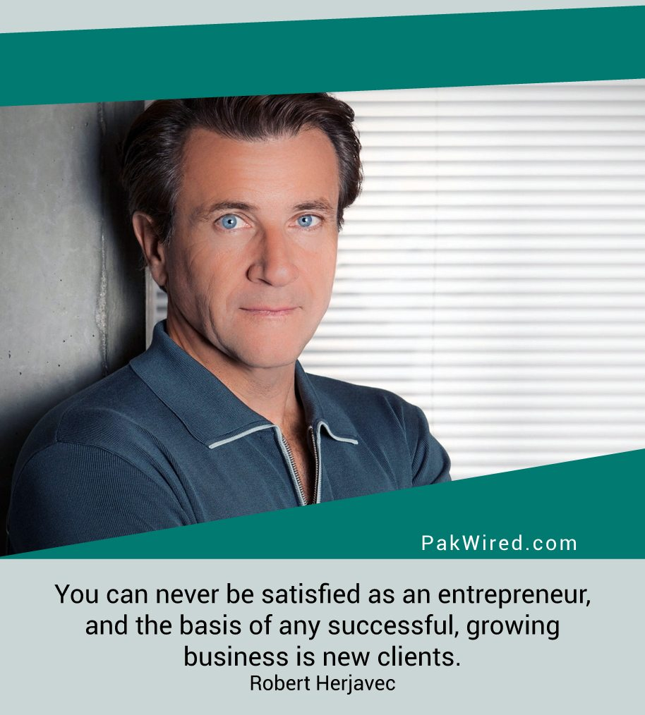 you-can-never-be-satisfied-as-an-entrepreneur-and-the-basis-of-any-successful-growing-business-is-new-clients-robert-herjavec