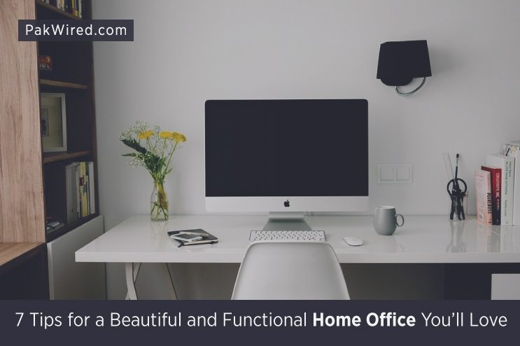7 tips for a beautiful and functional home office you 39 ll love for Functional home office