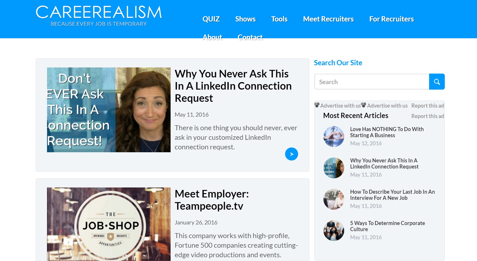 the top job sites for job seekers careerealism careerealism features a job search function but it s so much more than that get resume critiques and career coaching from the site