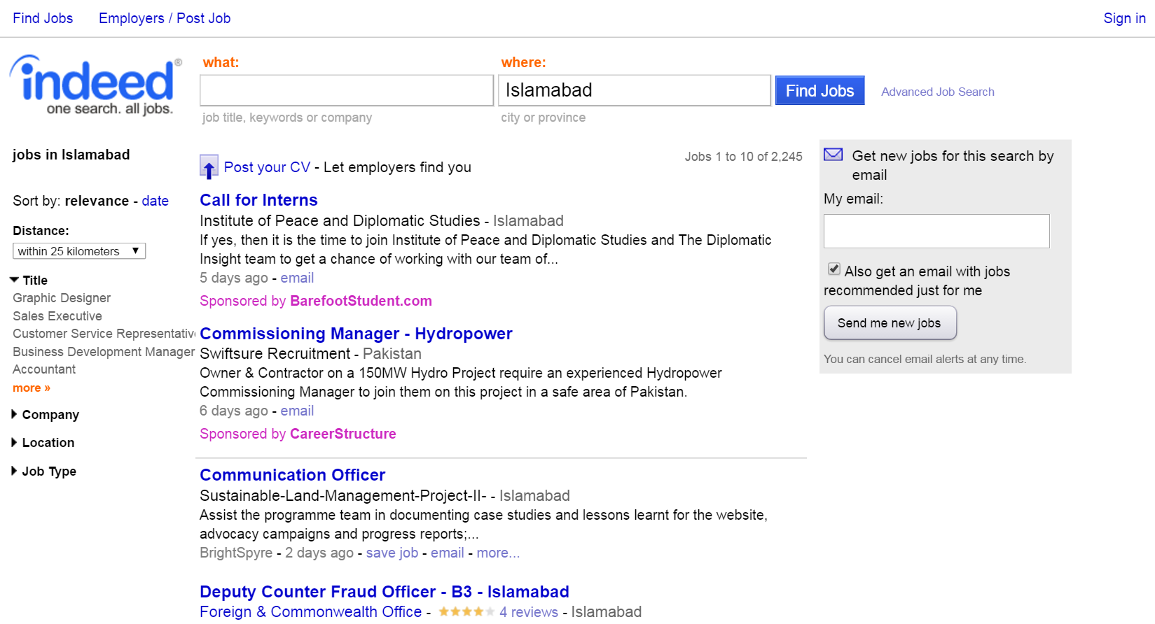 Indeed – Indeed curates job listings from across the web for job ...