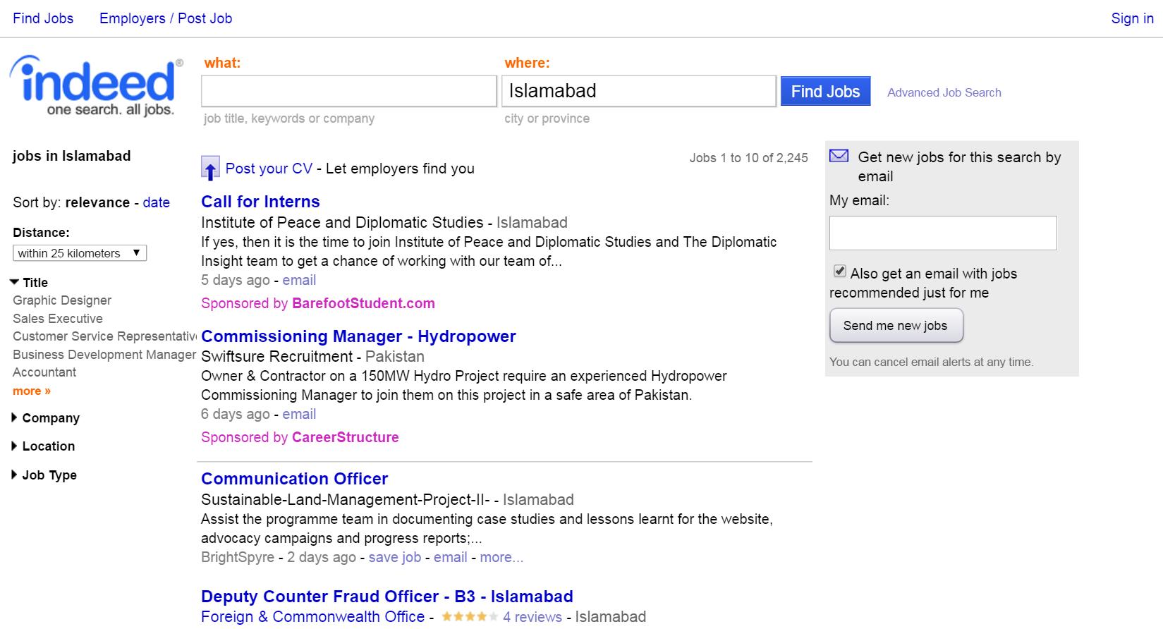 the top job sites for job