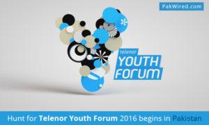 Hunt for Telenor Youth Forum 2016 begins in Pakistan