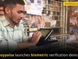 Easypaisa-launches-biometric-verification-devices