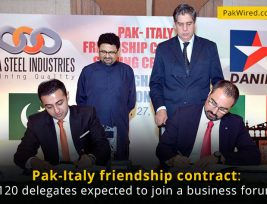 Pak-Italy-friendship-contract-120-delegates-expected-to-join-a-business-forum