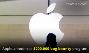 Apple announces bug bounty program of $200,000 for anyone