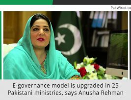 E-governance-model-is-upgraded-in-25-Pakistani-ministries,-says-Anusha-Rehman