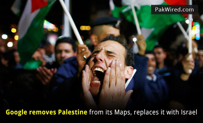 World Goes Berserk After Google Removes Palestine From World Map