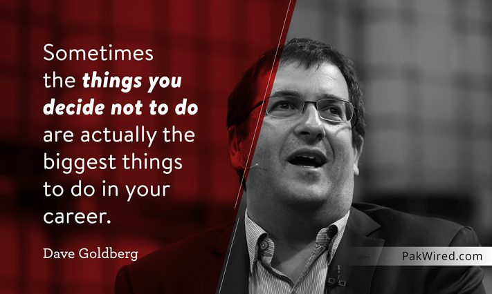 Messed Up Life Quotes: Dave Goldberg: 10 Quotes On His Birthday