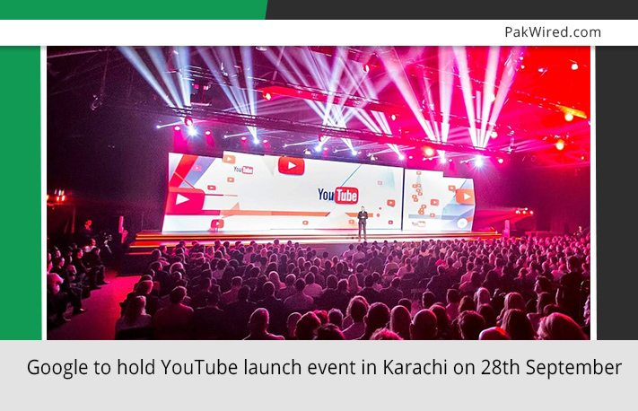 Google to hold YouTube launch event in Karachi on 28th ...