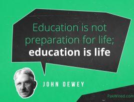 education-is-life-itself