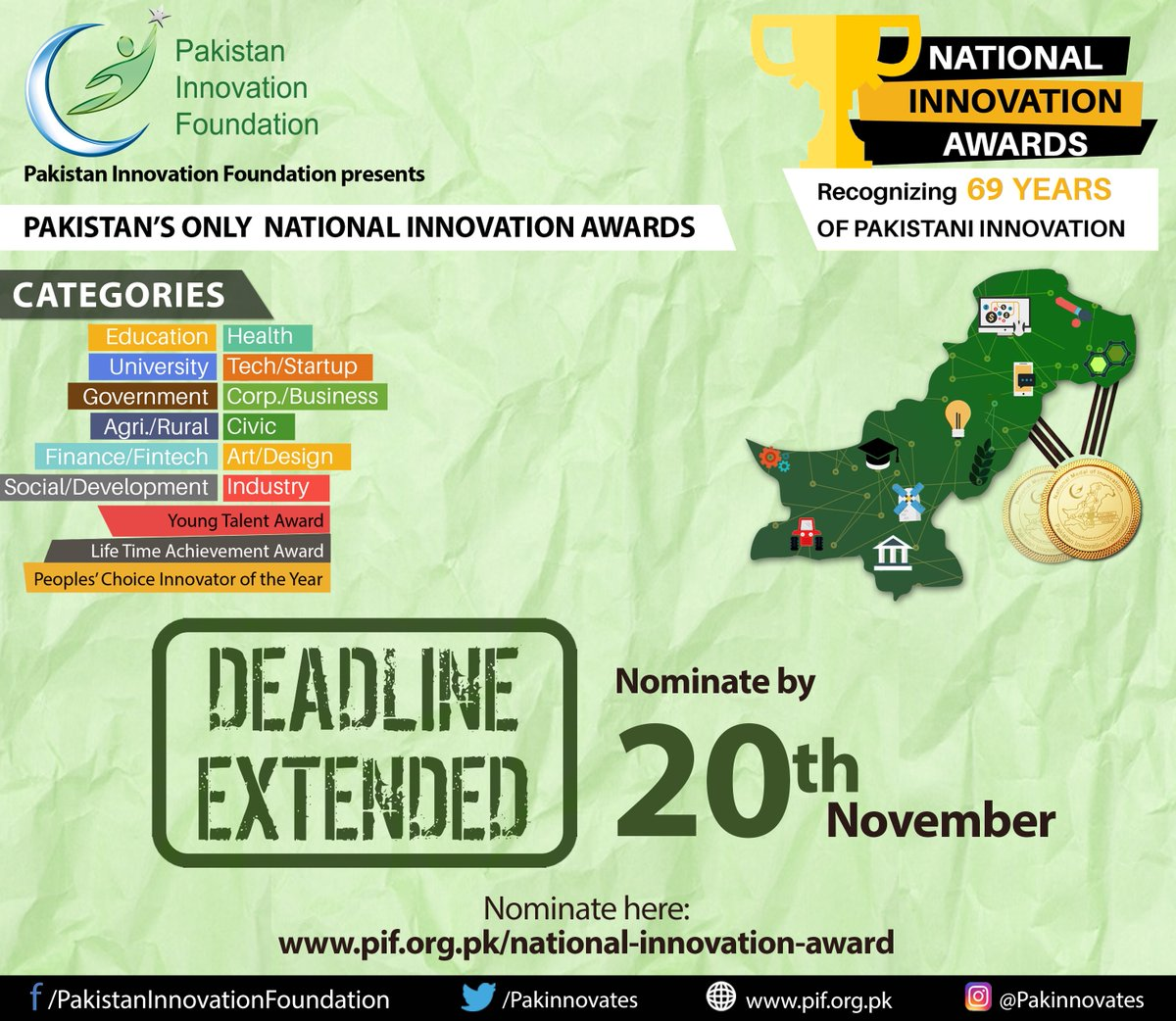 National Innovation Awards