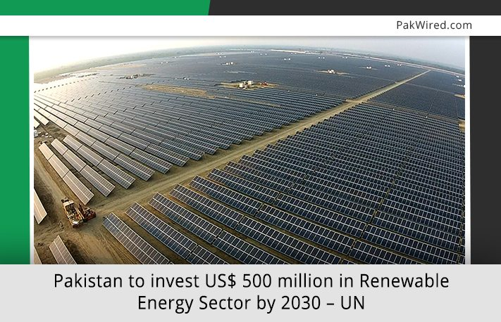 Pakistan To Invest Us 500 Million In Renewable Energy